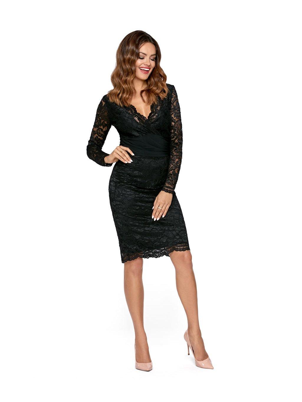 0b427e1c153 Dámské šaty Cameron černé - MOODA.cz