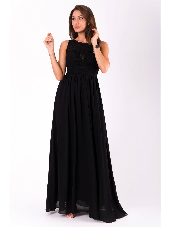 Dámské šaty Desire černé - MOODA.cz d454b165d4