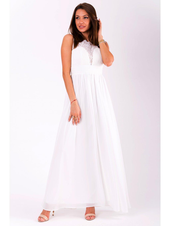220de8a8ec1 Dámské šaty Desire bílé - MOODA.cz