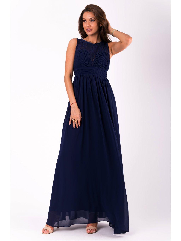 Dámské šaty Desire modré - MOODA.cz f2c6da381b