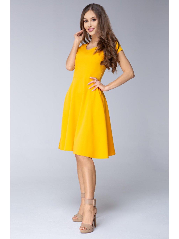 050c37cbac4b Dámské šaty Mentos žluté Dámské šaty Mentos žluté ...