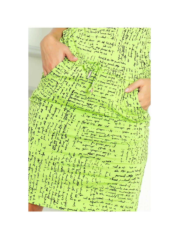 ... Dámské šaty Papirus zelené (Velikost L) 29148a8d243