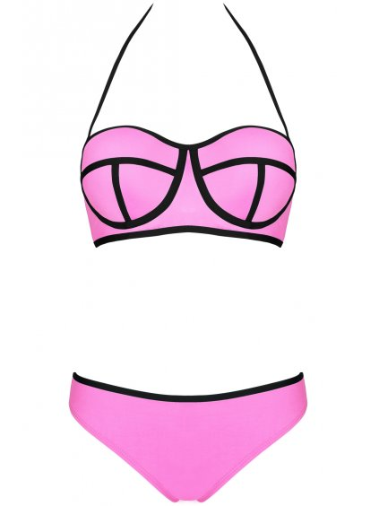 Dámské plavky Ingrid růžové