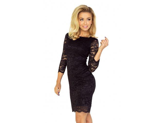 145 1 sukienka z koronki czarn 4619