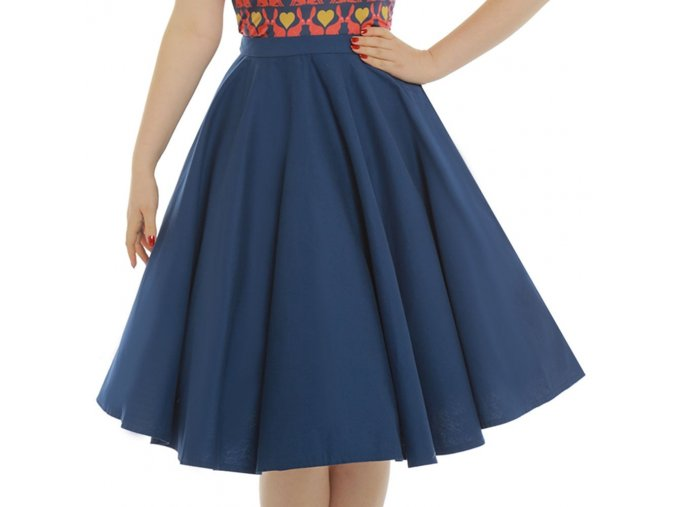 peggy sue navy blue full circle skirt p3402 19652 zoom