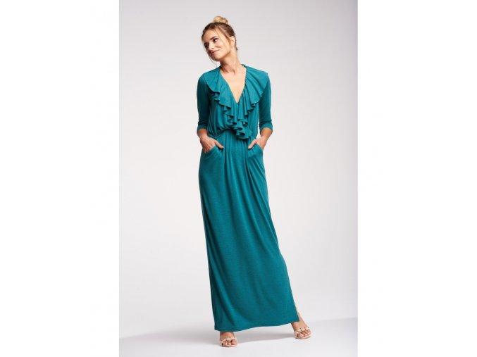 maxi dress with ruffles (1)