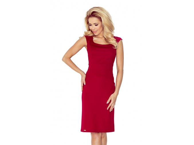 Dámské šaty Elegantní červené víno