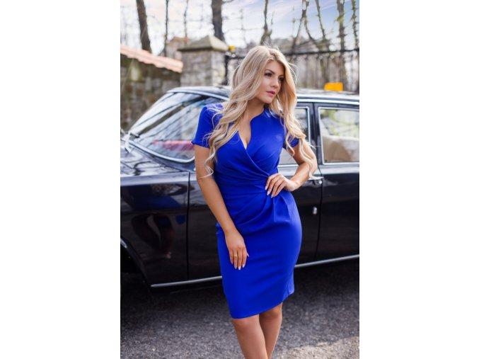 Dámské šaty Koperka modré