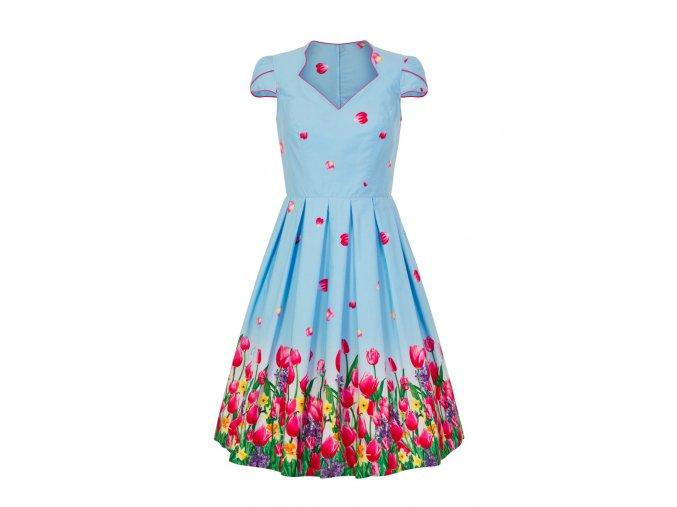 4791 angelique 50s dress blue im 1