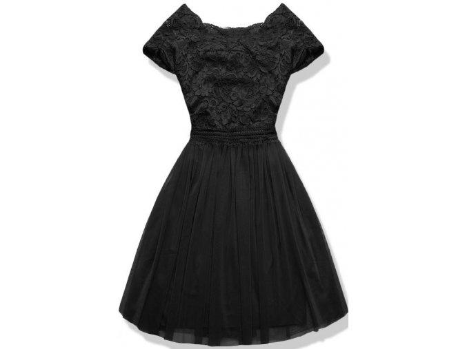 Dámské šaty Něha černé