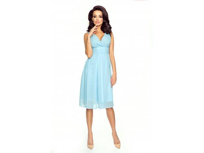 Dámské šaty Večernice DeLuxe nebeské