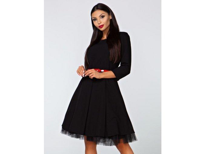 Dámské šaty Podzim černé