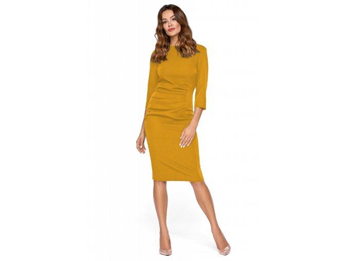Dámské šaty Phyris žluté