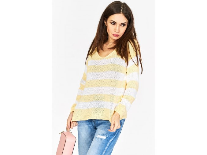 sweter w pasy 5903 (8)