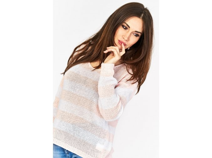 sweter w pasy 5903