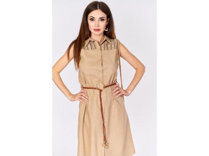 sukienka z cekinami i paskiem (1)
