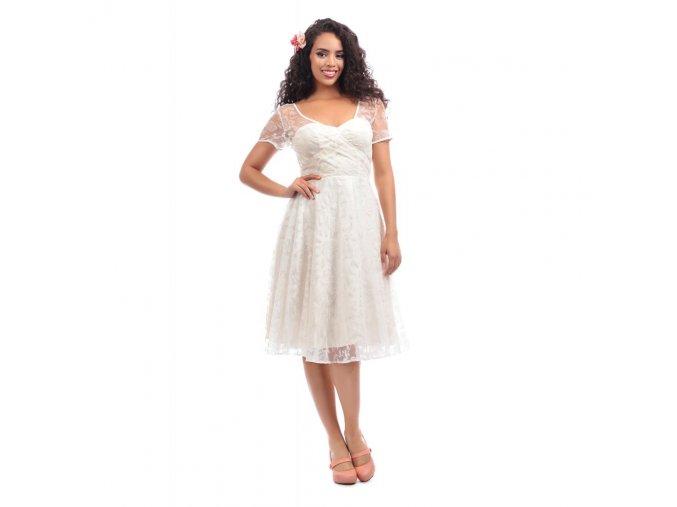 Dámské šaty Nina Brocade Rose