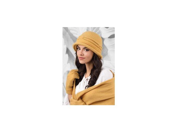 KAMEA VERONA kapelusz damski miodowy