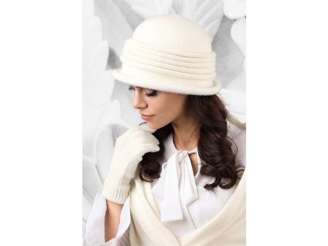 KAMEA SALERNO kapelusz damski ecru