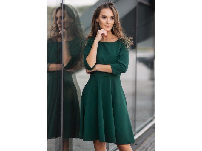 Dámské šaty Listopad zelené