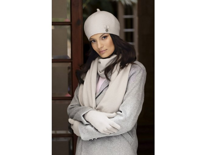 KAMEA MURCJA beret damski bezowy(5)