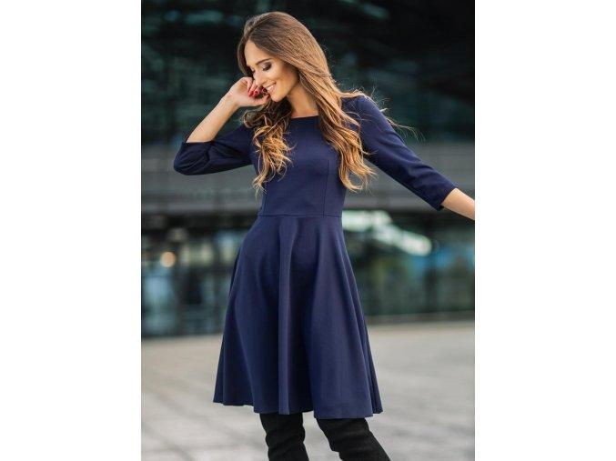 Dámské šaty Listopad modré
