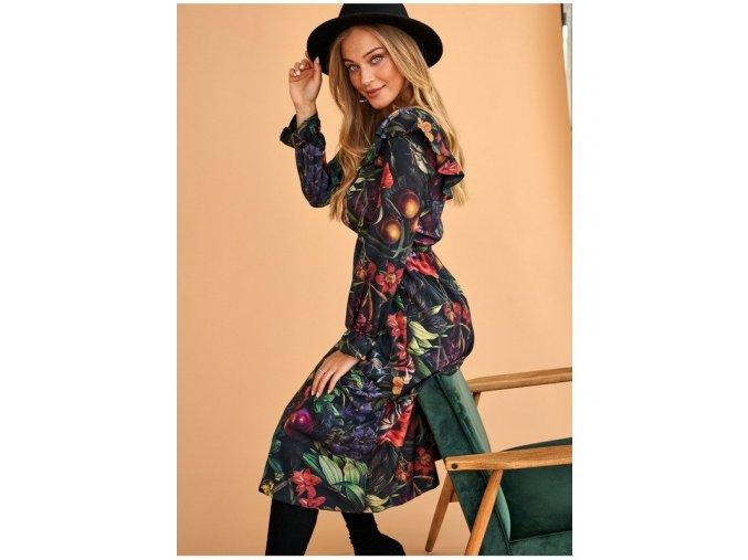 sukienka midi w kwiatowy wzor secret garden (4)