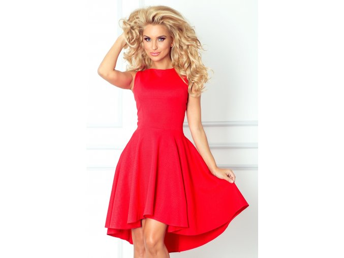 Dámské šaty Hot červené (Velikost L)