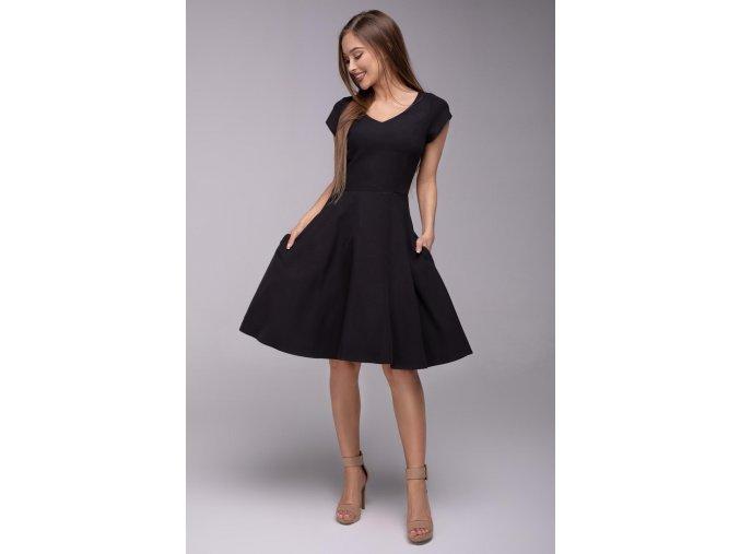 Dámské šaty Flamenco černé