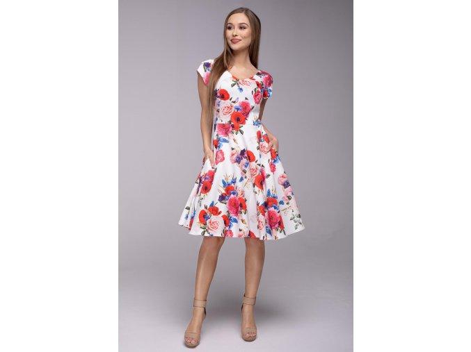 Dámské šaty Flamenco Vlčí máky