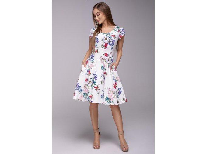 Dámské šaty Flamenco Něžná květina