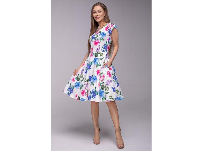 Dámské šaty Flamenco Závan jara