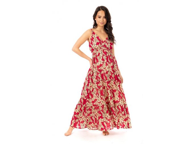 Dámské maxi šaty Kvetoucí léto