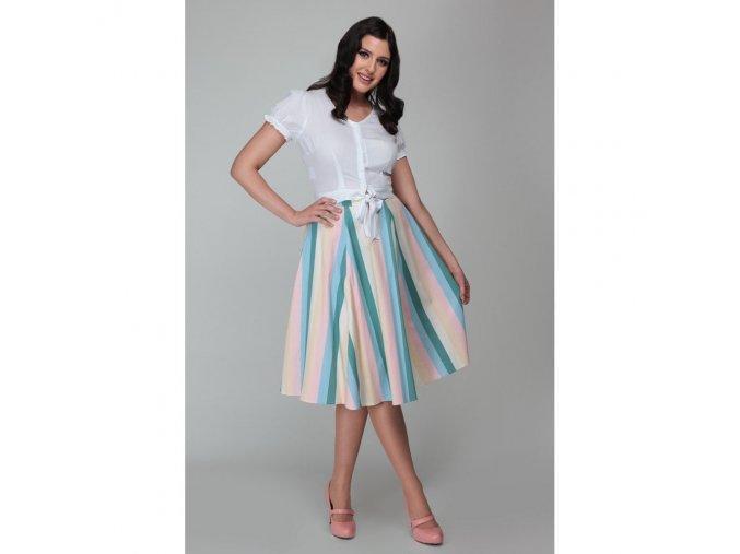 Dámská retro sukně Mainline proužky