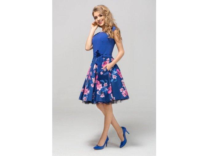 Dámské šaty Roztančená světle modré