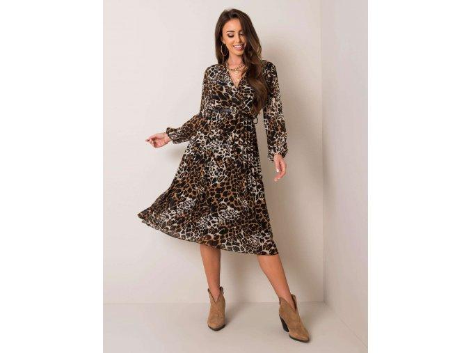 pol pl Czarno bezowa sukienka Naomi 353521 1