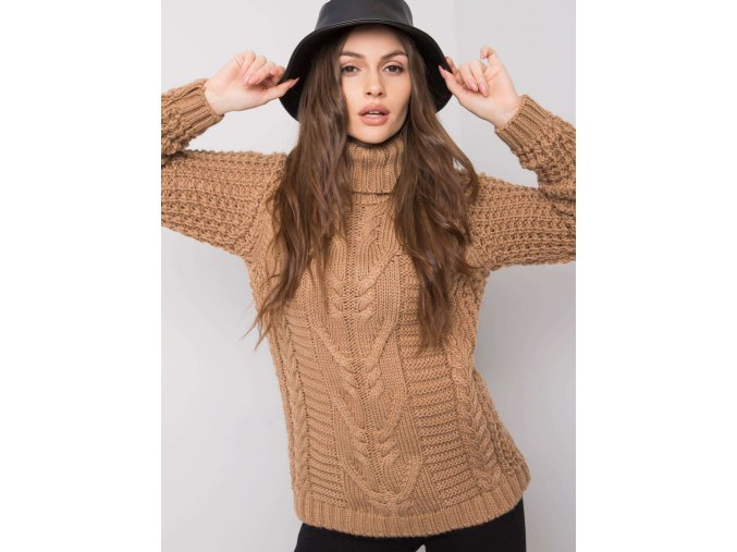 pol pl Camelowy sweter Colleen 360295 1