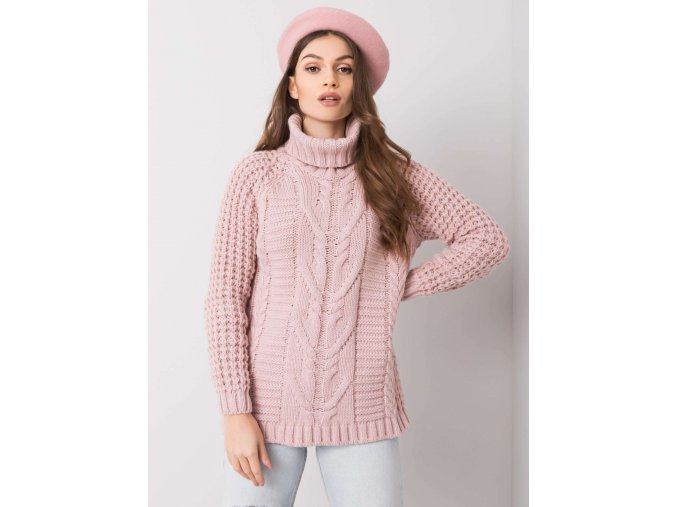 pol pl Brudnorozowy sweter Colleen 360297 2