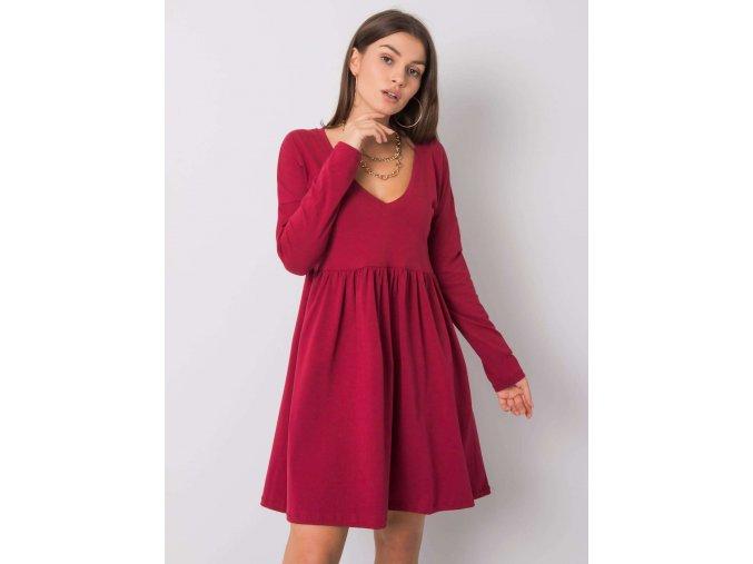 pol pl Bordowa sukienka Brooke RUE PARIS 356202 1