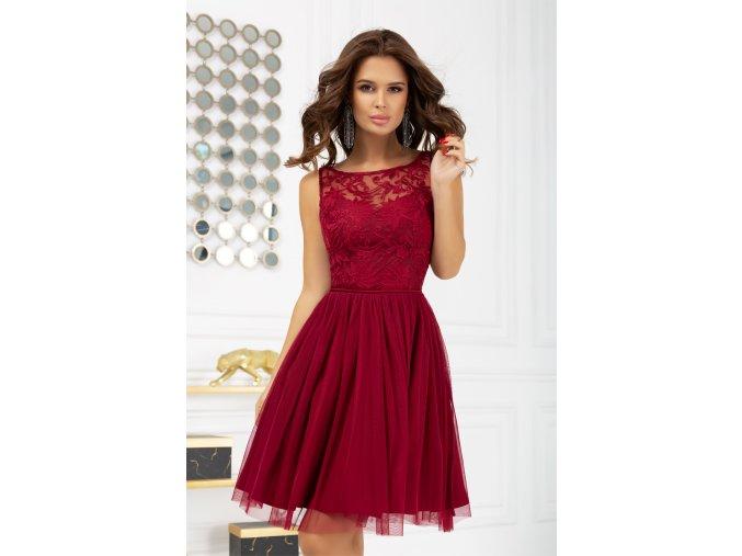 Dámské šaty Kráska vínové