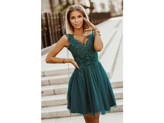 Dámské šaty Maceška zelené