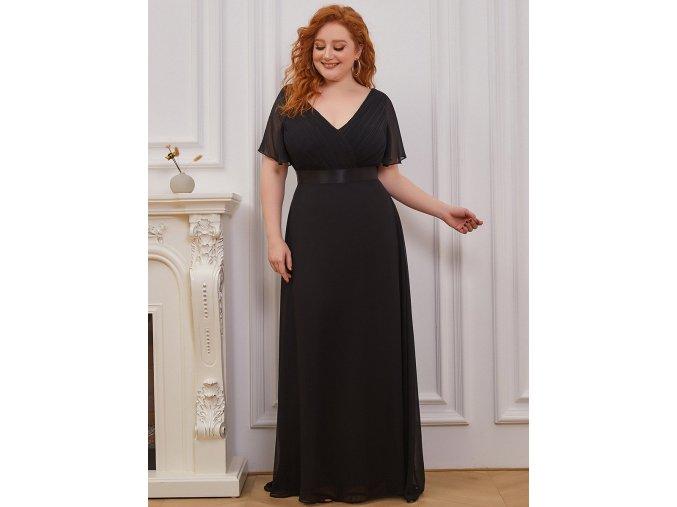 Společenské šaty Laguna černé