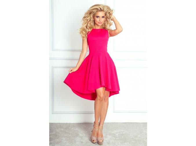Dámské šaty Hot Pink růžové (Velikost L)