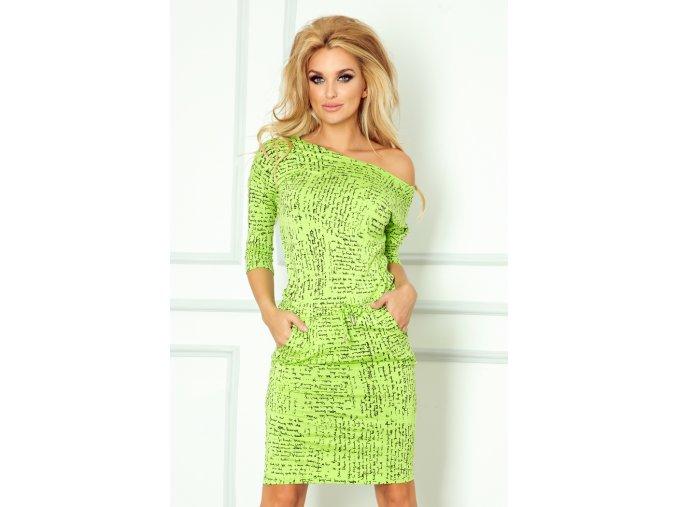 Dámské šaty Papirus zelené (Velikost L)