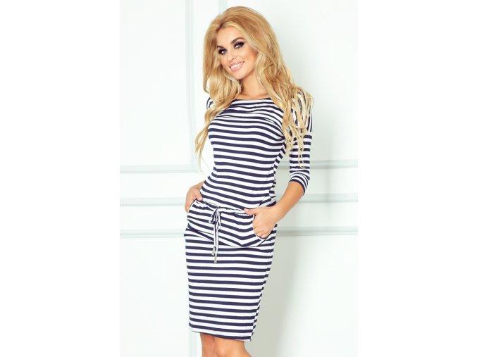 Dámské šaty Moře volá (Velikost L)