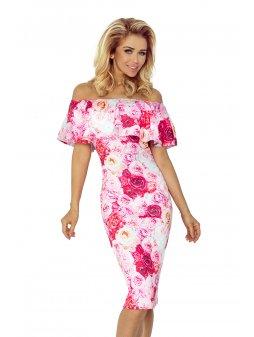 138 6 sukienka hiszpanka rozow 5185