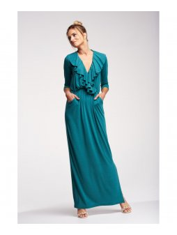 maxi dress with ruffles (1)