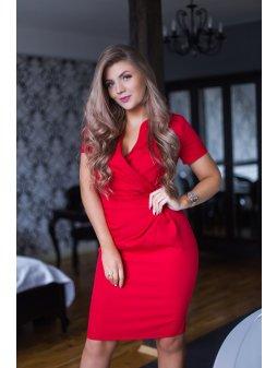 Dámské šaty Koperka červené
