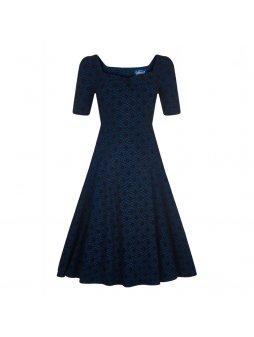 dolores doll half sleeve brocade dress p6776 196993 image