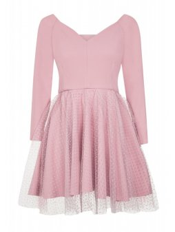 Dámské šaty Tutovka růžové